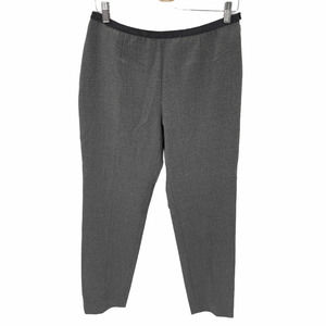 Peserico EU48 XL Gray Pull On Flannel Wool Pants